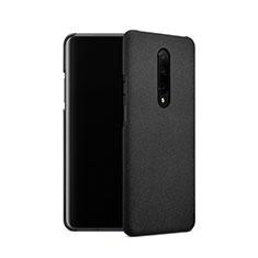 Coque Plastique Rigide Sables Mouvants pour OnePlus 7 Pro Noir