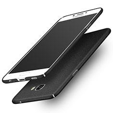 Coque Plastique Rigide Sables Mouvants pour Samsung Galaxy C7 Pro C7010 Noir