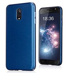Coque Plastique Rigide Sables Mouvants pour Samsung Galaxy C8 C710F Bleu
