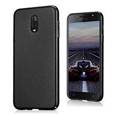 Coque Plastique Rigide Sables Mouvants pour Samsung Galaxy C8 C710F Noir