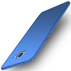 Coque Plastique Rigide Sables Mouvants pour Samsung Galaxy C9 Pro C9000 Bleu