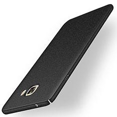 Coque Plastique Rigide Sables Mouvants pour Samsung Galaxy C9 Pro C9000 Noir
