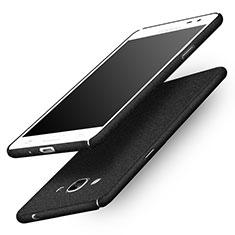 Coque Plastique Rigide Sables Mouvants pour Samsung Galaxy J3 Pro (2016) J3110 Noir