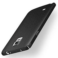 Coque Plastique Rigide Sables Mouvants pour Samsung Galaxy Note 4 Duos N9100 Dual SIM Noir
