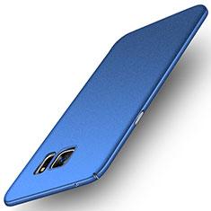 Coque Plastique Rigide Sables Mouvants pour Samsung Galaxy Note 5 N9200 N920 N920F Bleu