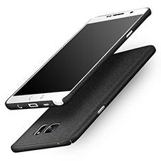 Coque Plastique Rigide Sables Mouvants pour Samsung Galaxy Note 5 N9200 N920 N920F Noir