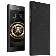 Coque Plastique Rigide Sables Mouvants pour Sony Xperia L1 Noir