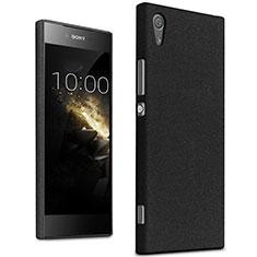 Coque Plastique Rigide Sables Mouvants pour Sony Xperia XA1 Noir