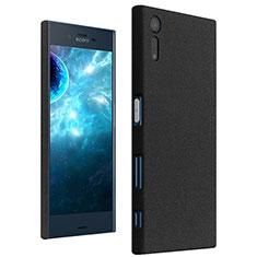 Coque Plastique Rigide Sables Mouvants pour Sony Xperia XZ Noir
