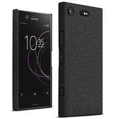 Coque Plastique Rigide Sables Mouvants pour Sony Xperia XZ1 Compact Noir