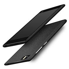 Coque Plastique Rigide Sables Mouvants pour Xiaomi Mi 3 Noir