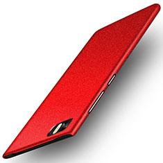 Coque Plastique Rigide Sables Mouvants pour Xiaomi Mi 3 Rouge