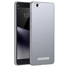 Coque Plastique Rigide Sables Mouvants pour Xiaomi Mi 4C Gris