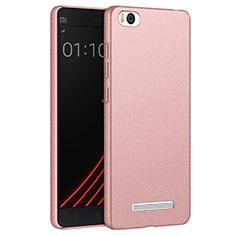 Coque Plastique Rigide Sables Mouvants pour Xiaomi Mi 4C Or Rose