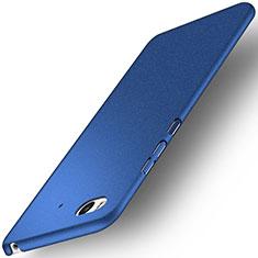 Coque Plastique Rigide Sables Mouvants pour Xiaomi Mi 5S 4G Bleu