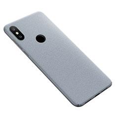 Coque Plastique Rigide Sables Mouvants pour Xiaomi Mi Max 3 Gris