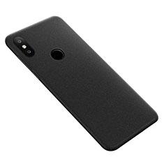 Coque Plastique Rigide Sables Mouvants pour Xiaomi Mi Max 3 Noir