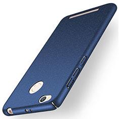 Coque Plastique Rigide Sables Mouvants pour Xiaomi Redmi 3 High Edition Bleu