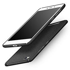 Coque Plastique Rigide Sables Mouvants pour Xiaomi Redmi 3 Noir