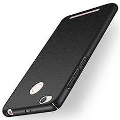 Coque Plastique Rigide Sables Mouvants pour Xiaomi Redmi 3 Pro Noir