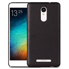 Coque Plastique Rigide Sables Mouvants pour Xiaomi Redmi Note 3 MediaTek Noir