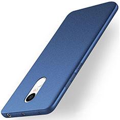 Coque Plastique Rigide Sables Mouvants pour Xiaomi Redmi Note 4X High Edition Bleu