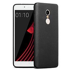Coque Plastique Rigide Sables Mouvants pour Xiaomi Redmi Note 4X Noir