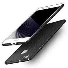 Coque Plastique Rigide Sables Mouvants Q01 pour Huawei G9 Lite Noir