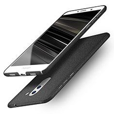 Coque Plastique Rigide Sables Mouvants Q01 pour Huawei Honor 6X Noir