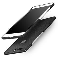 Coque Plastique Rigide Sables Mouvants Q01 pour Huawei Honor V8 Noir