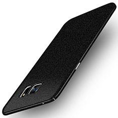 Coque Plastique Rigide Sables Mouvants Q01 pour Samsung Galaxy Note 5 N9200 N920 N920F Noir