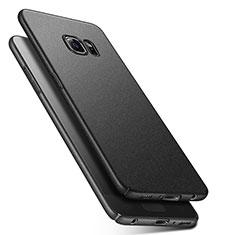 Coque Plastique Rigide Sables Mouvants Q01 pour Samsung Galaxy S6 SM-G920 Noir