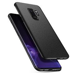 Coque Plastique Rigide Sables Mouvants Q01 pour Samsung Galaxy S9 Plus Noir