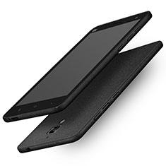 Coque Plastique Rigide Sables Mouvants Q01 pour Xiaomi Mi 4 LTE Noir