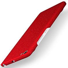 Coque Plastique Rigide Sables Mouvants Q01 pour Xiaomi Mi 5 Rouge