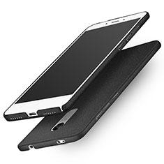 Coque Plastique Rigide Sables Mouvants Q01 pour Xiaomi Redmi Note 4 Standard Edition Noir