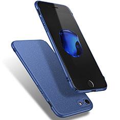 Coque Plastique Rigide Sables Mouvants Q02 pour Apple iPhone 8 Bleu