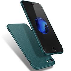Coque Plastique Rigide Sables Mouvants Q02 pour Apple iPhone 8 Vert