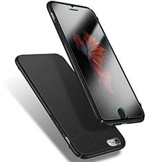 Coque Plastique Rigide Sables Mouvants Q03 pour Apple iPhone 6S Noir