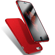 Coque Plastique Rigide Sables Mouvants Q03 pour Apple iPhone 6S Rouge