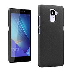 Coque Plastique Rigide Sables Mouvants R01 pour Huawei Honor 7 Noir
