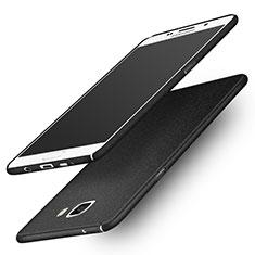 Coque Plastique Rigide Sables Mouvants R01 pour Samsung Galaxy A9 Pro (2016) SM-A9100 Noir