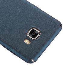 Coque Plastique Rigide Sables Mouvants R01 pour Samsung Galaxy C7 SM-C7000 Bleu