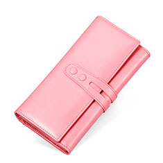 Coque Pochette Cuir Universel H14 pour Huawei Honor Magic 2 Rose