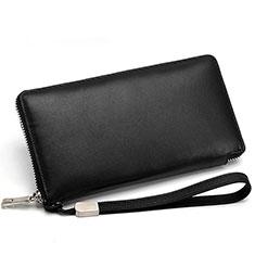 Coque Pochette Cuir Universel H18 pour Huawei Enjoy 8e Lite Noir