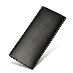 Coque Pochette Cuir Universel H31 pour Nokia 8110 2018 Noir