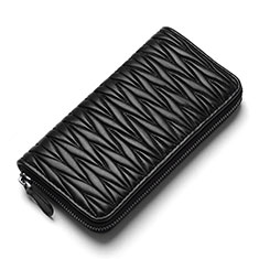 Coque Pochette Cuir Universel H35 pour Sony Xperia 1 Noir