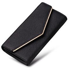 Coque Pochette Cuir Universel K03 pour Sony Xperia 1 Noir