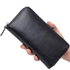 Coque Pochette Cuir Universel K07 pour Sony Xperia 1 Noir