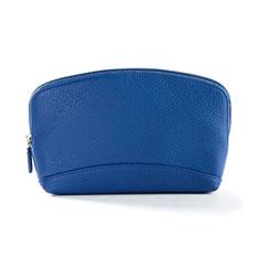 Coque Pochette Cuir Universel K14 pour Oneplus 7 Bleu